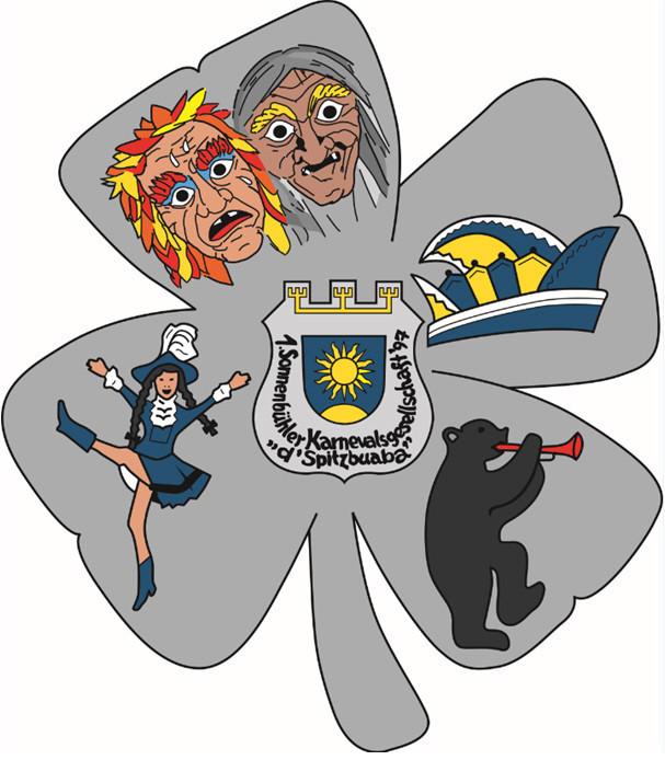"""1.Sonnenbühler Karnevalsgesellschaft """"d'Spitzbuaba"""" 97"""